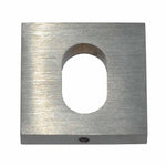 Escutcheon Square Oval Cylinder