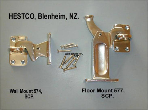 Pedestal Latch Back - Floor Mount