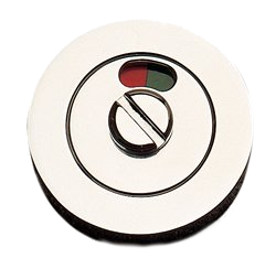 Escutcheon Round Emergency Turn With Indicator