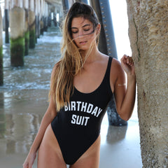Birthday Suit Swimsuit