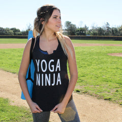 Clothing By OWL Tank Top Yoga Ninja
