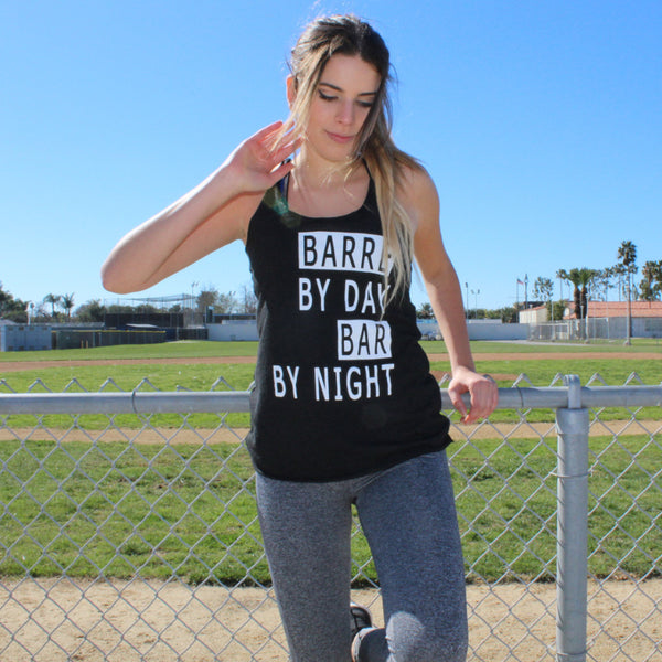 Clothing By OWL Tank Barre By Day Bar By Night