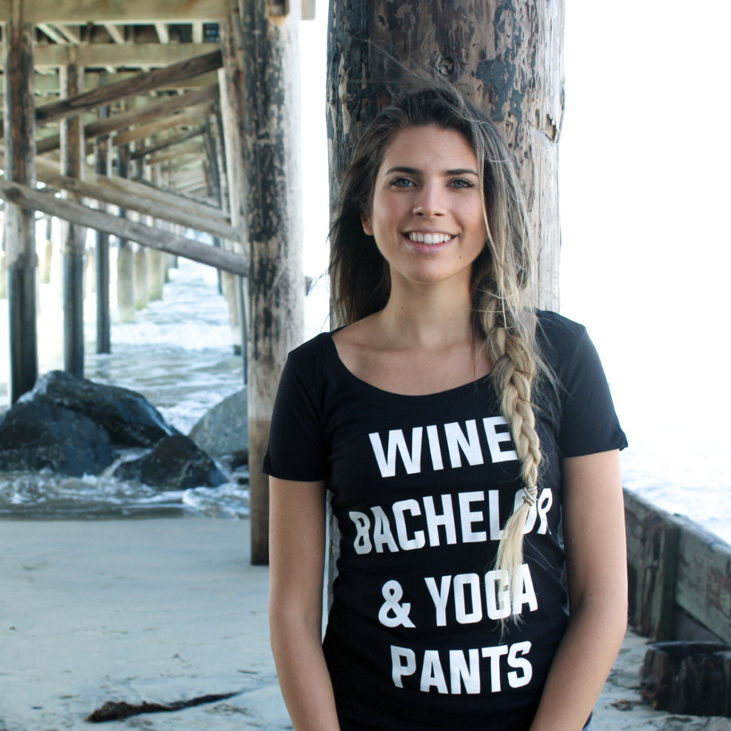 Clothing By OWL shirt Wine Bachelor & Yoga Pants