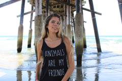 Clothing By OWL Tank Animals are my friends