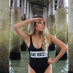 Clothing By Owl Swimsuit Bae Watch