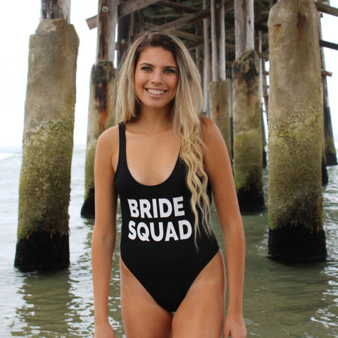 Clothing By Owl Swimsuit Bride Squad