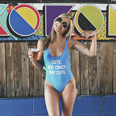 cute but crazy but cute swimsuit
