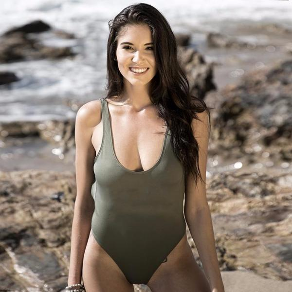 CUSTOM OLIVE SWIMSUIT