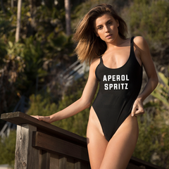 Clothing By Owl Swimsuit Aperol Spritz