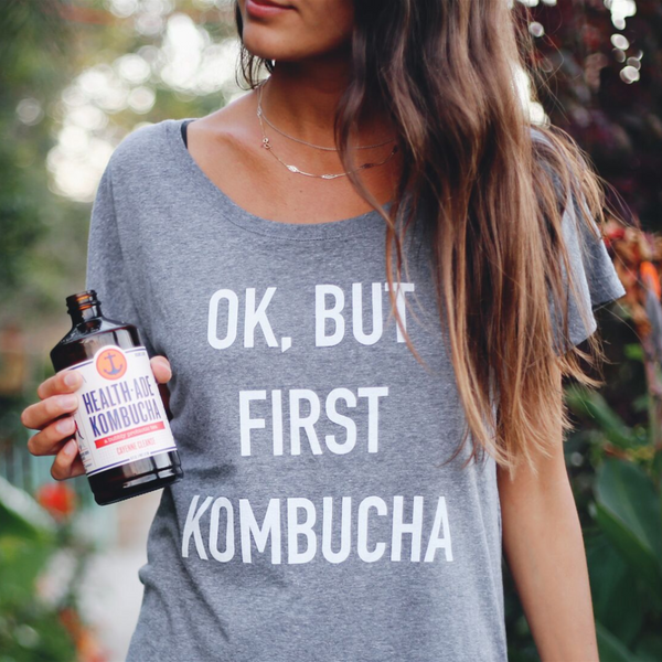 OK, But First Kombucha