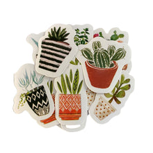Load image into Gallery viewer, Plant/Cactus Sticker Fun Pack