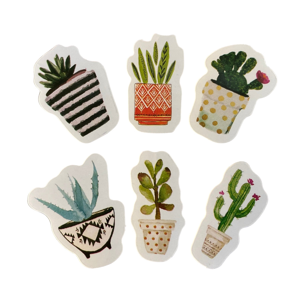 Plant/Cactus Sticker Fun Pack