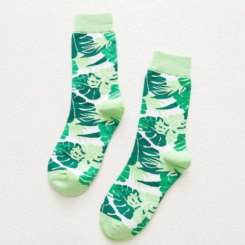 Monstera Socks - Socks Monstera