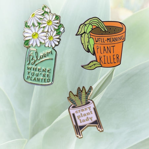 Plant Lovers Pin Pack - Pin