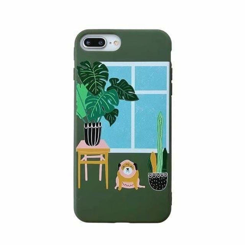 Planty iPhone Case - for iPhone X, XS, 11 Pro / Houseplants