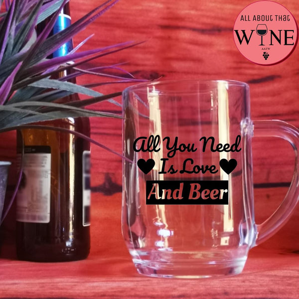 All You Need Is Love And Beer -Please Select Vinyl Color-