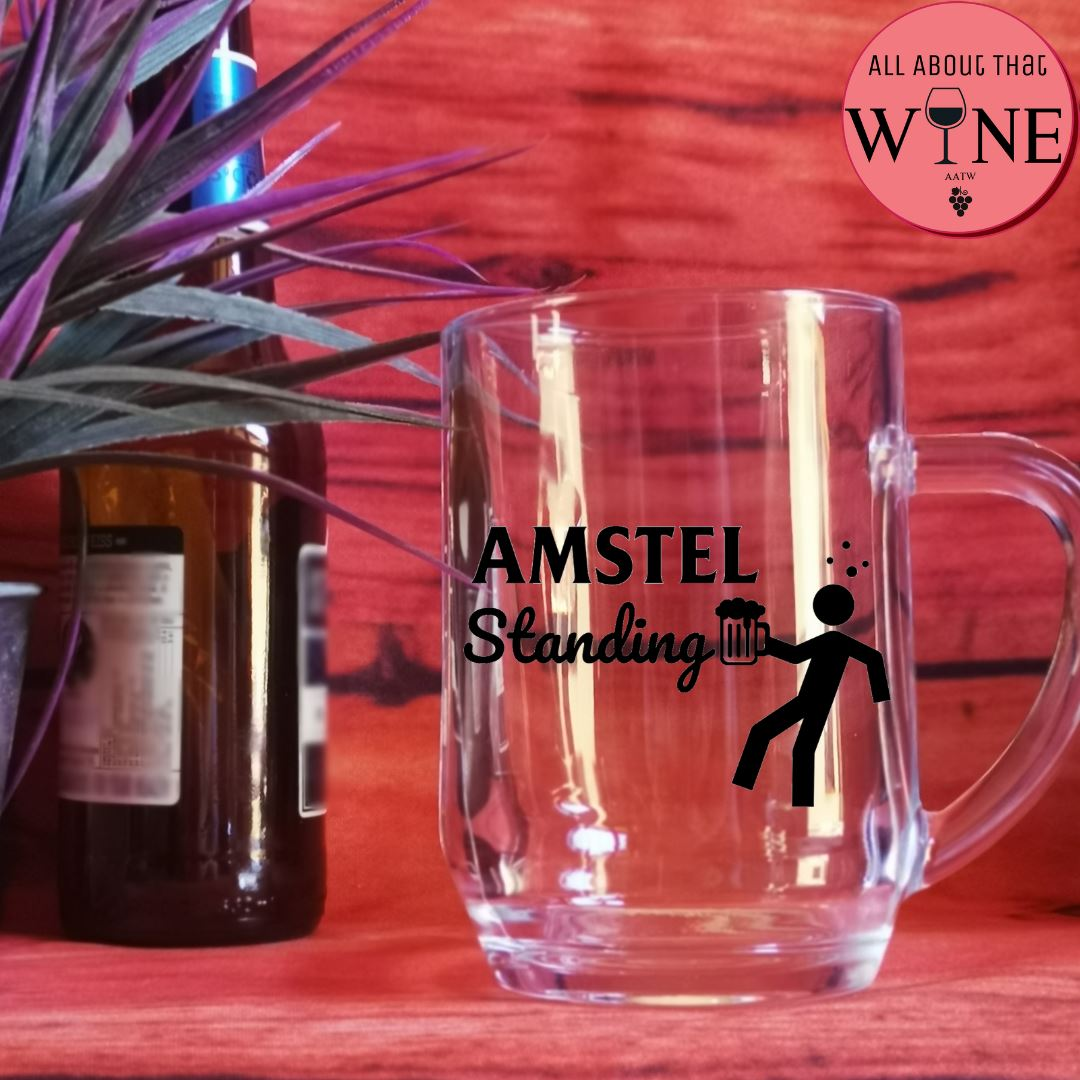 AMSTEL Standing -Please Select Vinyl Color-