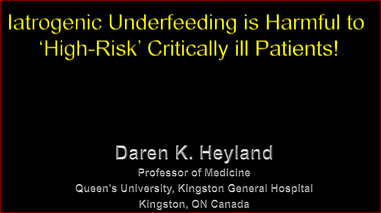DNS Symposium 2015-Underfeeding in the ICU non-member price