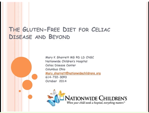 Gluten Free: Celiac Disease and Beyond Webinar - Non-Member Price