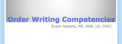 2017 Symposium session: Order Writing Competencies- Member Price