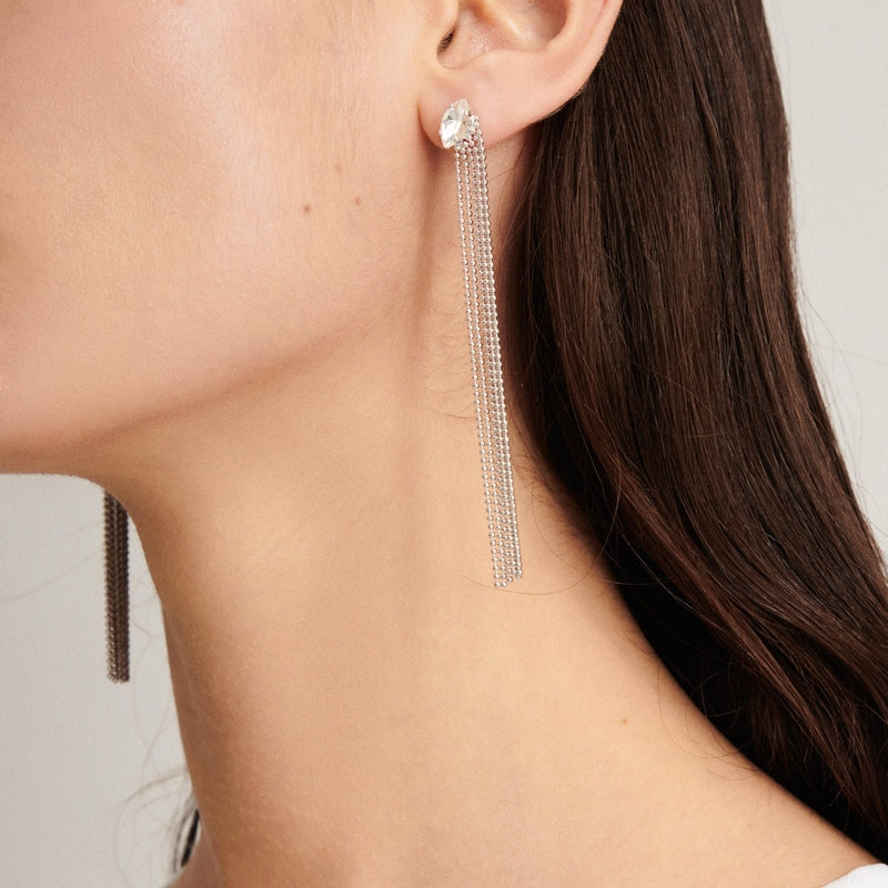Sparkling Rhinestone and Crystal Earrings