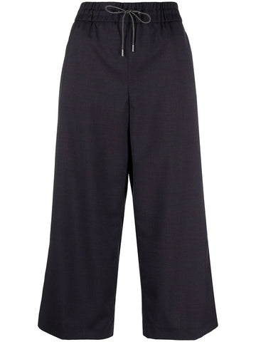 Hi-Waisted Wide Leg Trouser