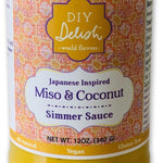 Miso & coconut simmer sauce from locally crafted DIY Deish in Denver