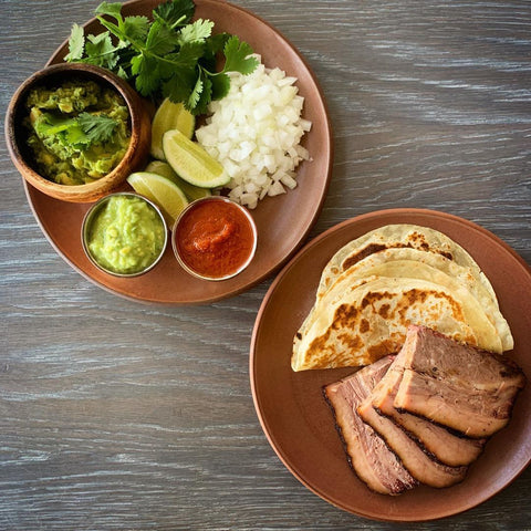 Smoked Brisket Taco Meal Kit (serves 5) From Senor Bear. Dinner made easy.