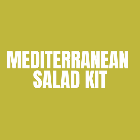 Make at home Mediterranean Salad Meal Kit