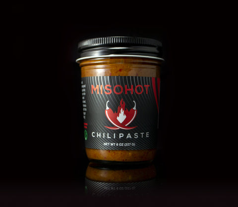 Chili Paste by MisoHot available at farmer's market via online ordering & curbside pick-up. More meal kits from local restaurants also available. Shop local!