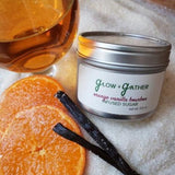 Grow & Gather small batch & handcrafted, infused sugar - Orange Vanilla Bourbon Flavor