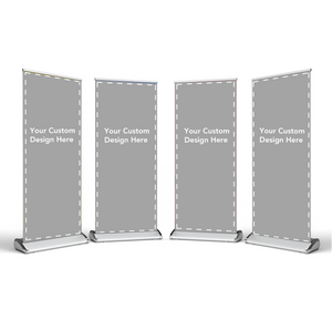 "33"" x 81"" Custom Banner Stands"