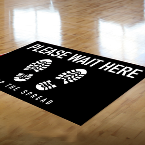 "12"" x 18 "" Rectangle Floor Graphic Decal"