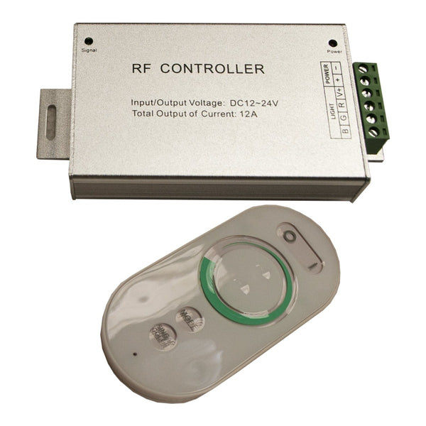 CO05 Controlador Para Fita LED Uw RGB/PWM 12/24Vdc - CO05