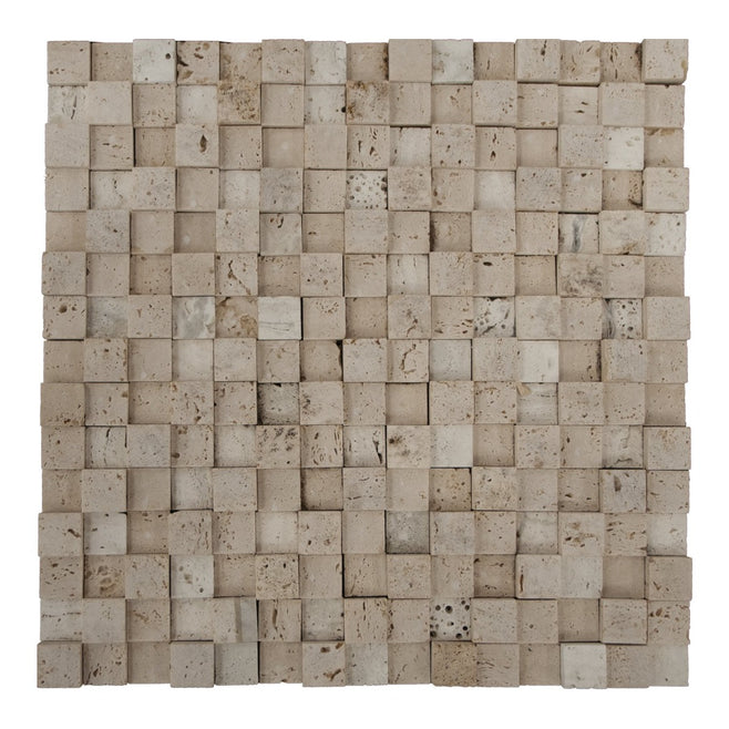 Mosaico Atelier Travertino 30x30 01m²