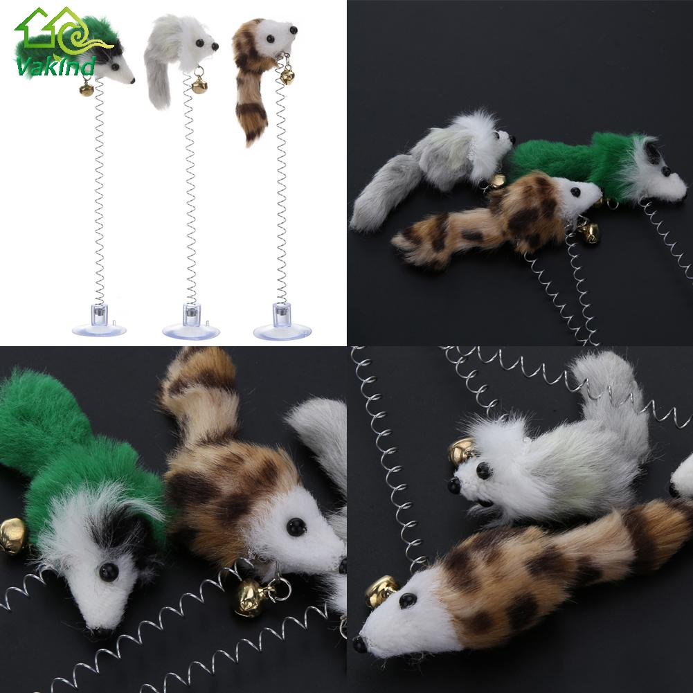 Funny Cat False Mouse Sucker Toys for Kittens