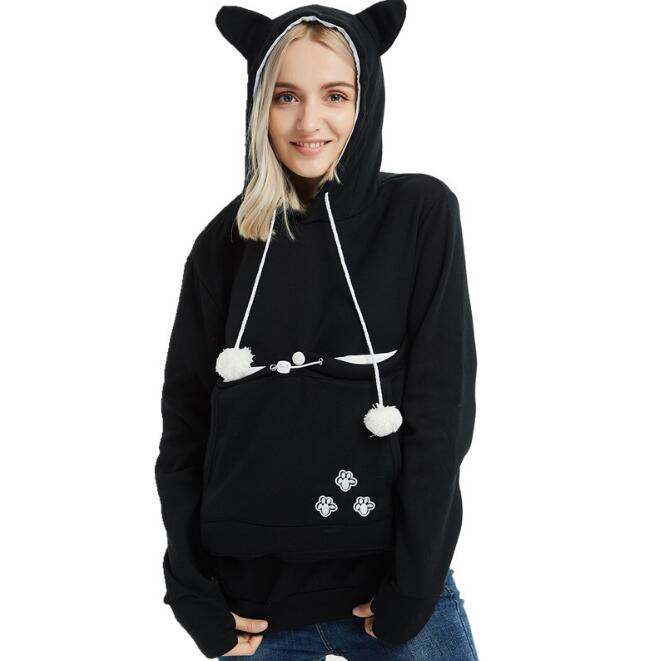 Cat Lovers Kangaroo Pullovers - Live Long and Pawspurr Shop