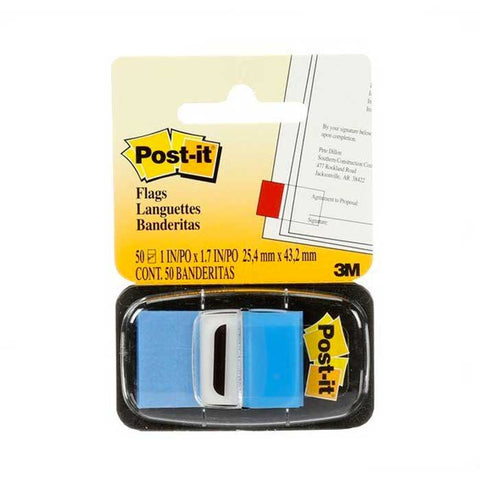 3M POST-IT FLAG 680-3 50 FLAGS Blue