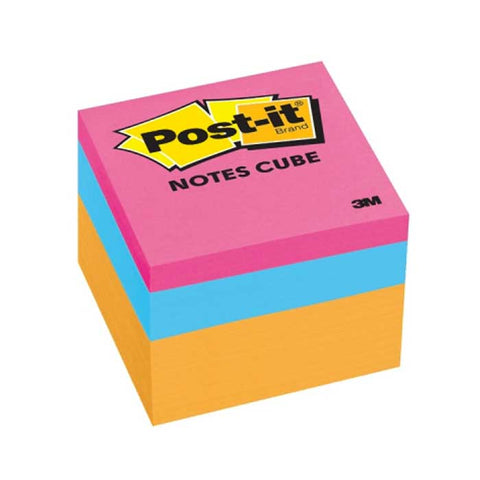 3M Post-it Note Cube 2051OCW 4Color 2 x 2