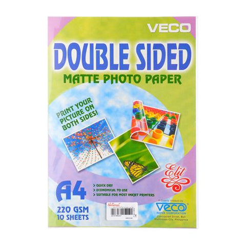 Veco Photo Paper Glossy Double Side A4 220gsm