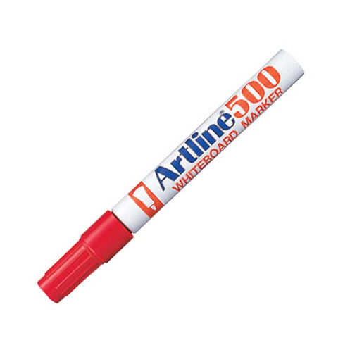 Artline Whiteboard Marker Pen #500 Fine Red