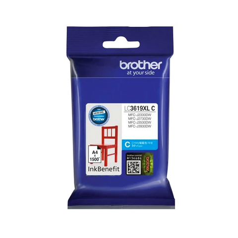Brother Ink Cartridge LC3619 Cyan