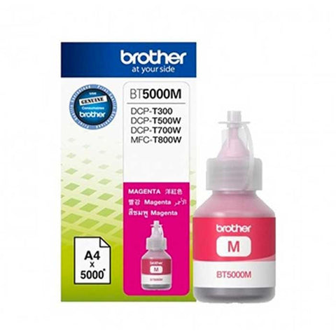 Brother Ink Bottle BT5000 Magenta