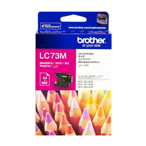 Brother Ink Cartridge LC - 73 Magenta
