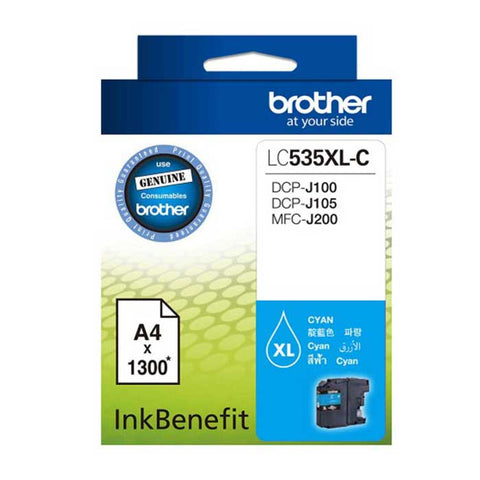 Brother Ink Cartridge LC 535XL Cyan