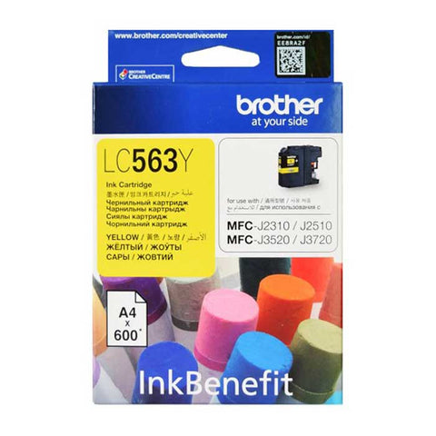 Brother Ink Cartridge LC-563 Yellow