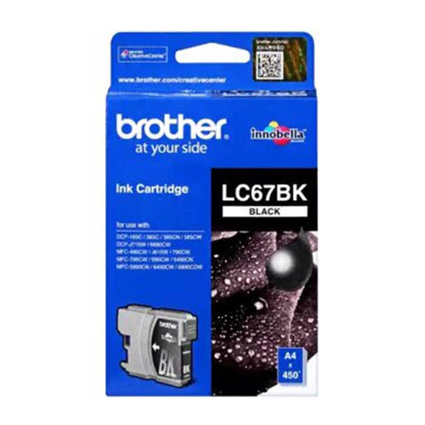 Brother Ink Cartridge LC - 67 Black