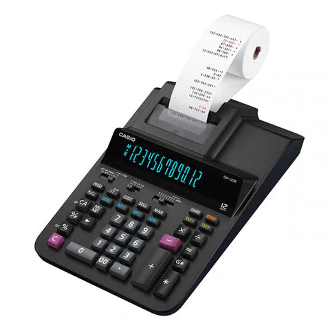 Casio Printing Calculators (Heavy-duty Type / Desk-Top Type) DR 120R