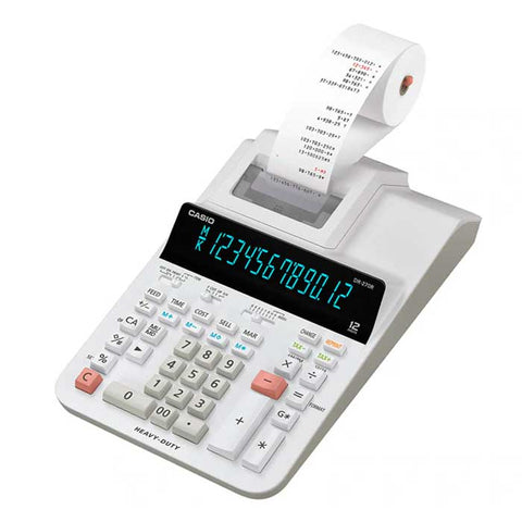 Casio Printing Calculators (Heavy-duty Type / Desk-Top Type) DR 270R