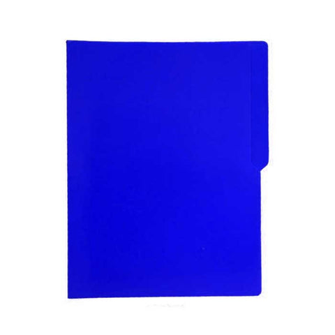 Colored Folder Short Blue P/X Brand